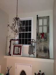 rustic christmas ledge decor just love decorating with old