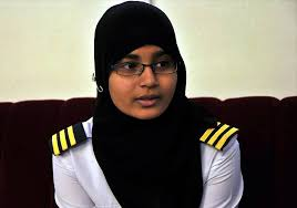Seeking Hyd Hyderabad S Syeda Fatima Gets Commercial Pilot