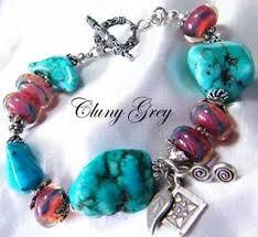 turquoise bracelet images Genuine turquoise bracelets cluny grey jewelry jpg
