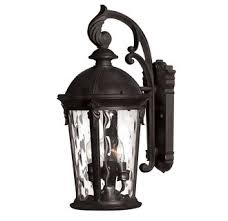 hinkley lighting 1898 led 20 75 height 1 light outdoor