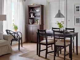 Ikea Dining Table And Chairs by Ikea Dining Room Table Modern Black Leather Base Dining Chair