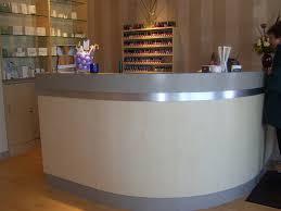 Beauty Salon Reception Desk Hairdressing Reception Desk Stylish White Salon Reception Desk