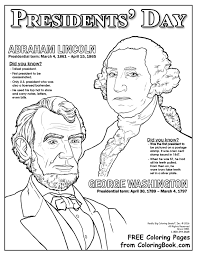 free printable coloring pages of us presidents coloring books presidents day free online coloring page
