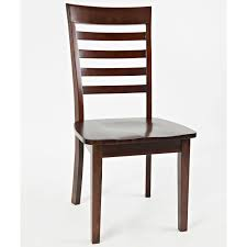 jofran 1659 912kd everyday classics ladder back dining chair in