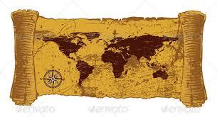 Decorative World Map Antique World Map By Namistudio Graphicriver