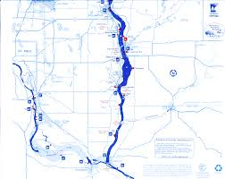 Map Of The Mississippi River River Maps U2013 Croixsippi Fishing Guide Service St Croix River