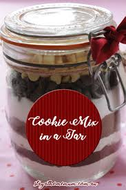 cookie mix in a jar stay at home mum