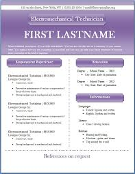 Free Resume Samples In Word Format by Free Cv Templates 43 To 49 U2013 Freecvtemplate Org