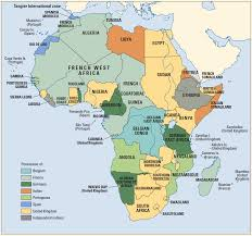 Map Of Africa And Europe by Colonialism Our World In Data