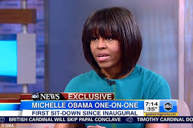 does michelle obama wear hair pieces michelle obama reveals barack s face drops when he sees their