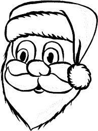 santa claus coloring book santa claus portrait coloring