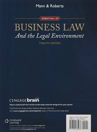 essentials of business law and the legal environment amazon co uk