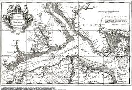Hampshire England Map by Calshot Spit And Stanswood Bay Solent And Southampton Water