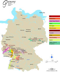 map of regions of germany 187 best les vins allemands german wines images on