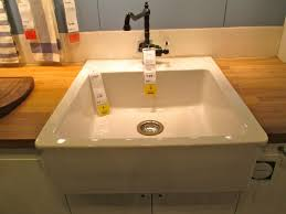 Country Sink Ikea With Under Cabinet Microwave For Exciting - Ikea kitchen sinks and faucets