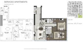 tower 2 bedroom apartment unit 4 floor plan
