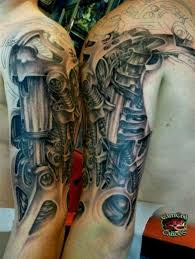 two sleeves tattoo pretty in ink pinterest steampunk