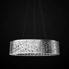 pendant crystal light fixture oval lighting artika