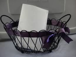 wedding program basket church rentals