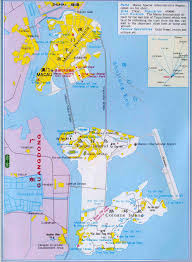 Political Maps Detailed Road And Political Map Of Macau Macau Detailed Road And