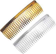 hair combs grip tuth hair combs 3 1 4 inch 1 pair