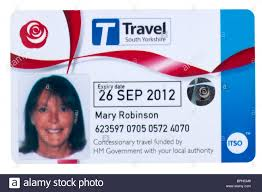 Senior citizens concessionary travel south yorkshire bus travel
