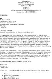 sle cover letter for product manager 28 images application
