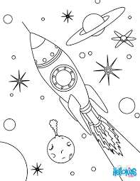 alien in spaceship coloring pages for spaceship coloring pages