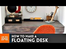 how to build a floating desk floating desk how to youtube