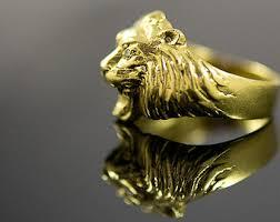 antique lion ring holder images Vintage 18k gold etsy jpg