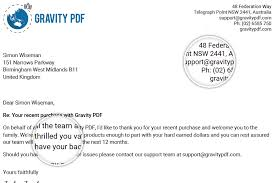 business letter 1 template how to install configure gravity pdf