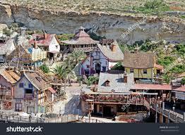popeye village popeye village malta stock photo 689534797 shutterstock