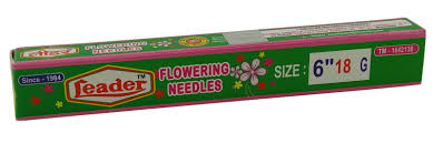 leader rust proof high quality sewing needles for flower