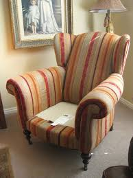 custom slipcovers by shelley wingback chair