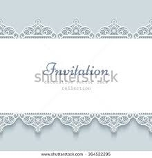 ornamental frame paper lace borders lace stock vector 364522295