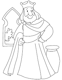 king charlemagne colouring king charlemagne colouring