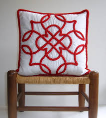 Knot Pillows by Days At Buttermilk Cottage Making A Celtic Braid Knitted Pillow