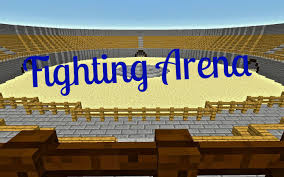Arena Maps Fighting Arena Multiplayer Map Game Map Minecraft Worlds