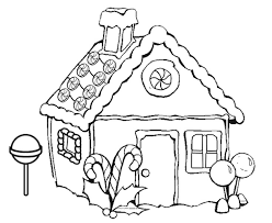 coloring pages houses printable gingerbread house coloring pages coloring me