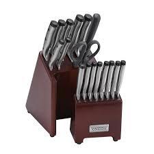 oneida kitchen knives oneida pro series 18 stainless steel knife block set