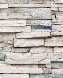 Faux Wood Wallpaper by Faux Stone Wallpaper Peel And Stick Stacked Stone Cultured