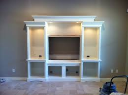 Build Your Own Bookcase Wall Wall Units Glamorous Building Built In Entertainment Center Built