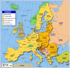 Map Of Budapest Map Of Europe Member States The Eu Nations Online Project And