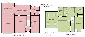 bed detached house for sale in bellars gardens malvern wr14 floor