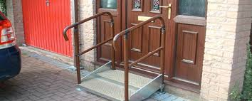 Disabled Handrails Go Access Modular Disabled Ramps And Steps