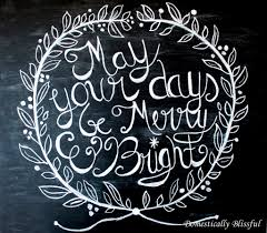 thanksgiving chalkboard art may your days be merry and bright christmas chalkboard