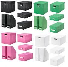 Ikea Storage Bins by Ikea Tjena Small Medium Large Size Kallax Toy Cd Dvd Book Storage