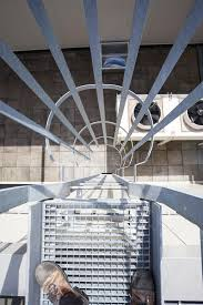 the emergency stairs stock image image of evacuation 72477083