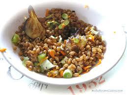 cuisiner le petit eautre petit epeautre aux oignons nouveaux et curcuma