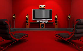 minimalist home theatre room design idea aprar